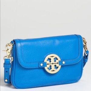 Tory Burch Blue Amanda Crossbody Bag